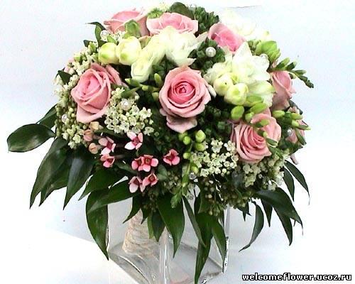 Цветы жених и невеста фото